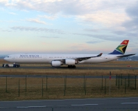 A340, South African, FRA, 17.9.2016, Lukáš Musil