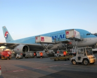 A380, Korean Air, PRG, 24.3.2014 (18:34), Lukáš Musil