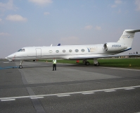 Gulftstream V, Gulfstream Aerospace, PRG, 25.4.2006 (16:08), Lukáš Musil